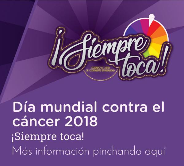 Dia mundial contra el cancer 2018