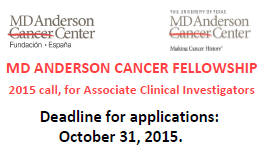 Md Anderson Cancer Fellowship